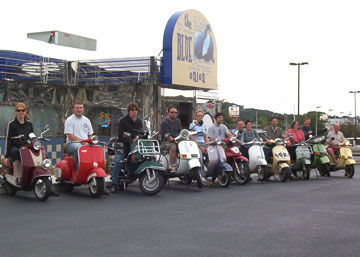 Diner City Scooter Club Worcester Ma